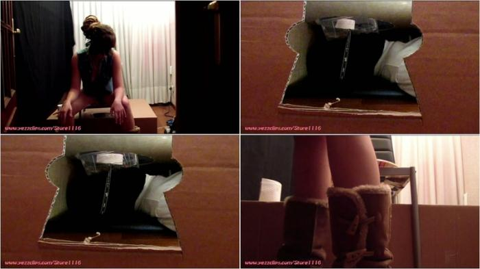 (Silvia) - OUR NEW LIFE WITH A HUMAN TOILET THE HUMAN LATRINE [FullHD 1080p] (872 MB)