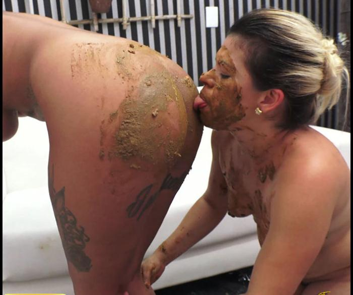 Idea brilliant Scat slave eating poop from womens asshole consider