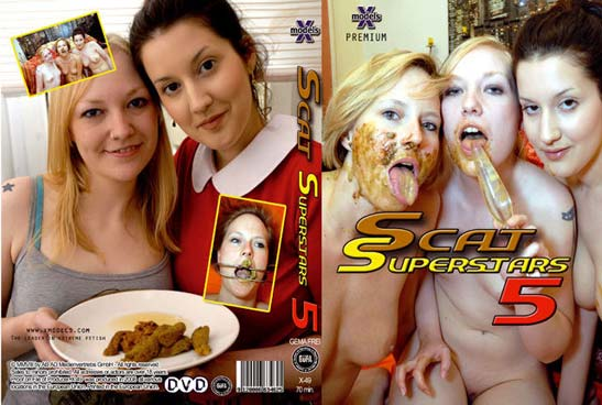 X-Models: (Louise Hunter, Susan, Tiffany, Maisy, Kira) - Scat Superstars 5 [DVDRip] (655 MB)