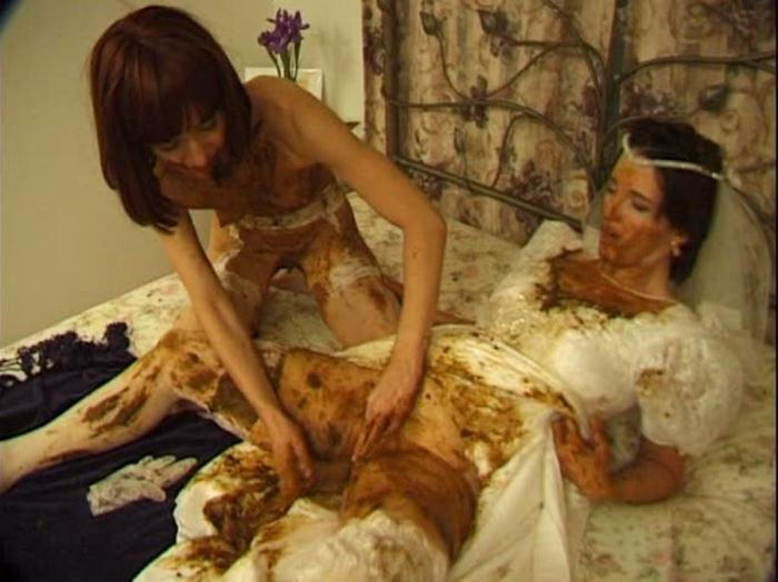 Hightide-Video: (Prettylisa, Lady St. Claire, 1 male) - Brown Wedding Night [SD] (699 MB)