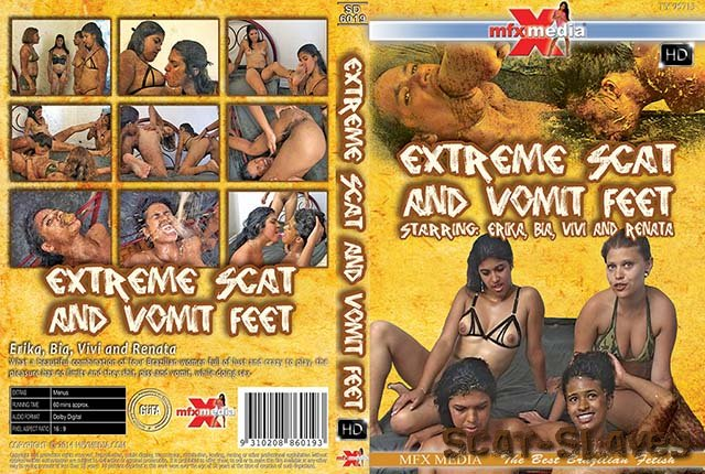 MFX Media: (Erika, Bia, Vivi, Renata) - [SD-6019] Extreme Scat and Vomit Feet [HDRip] (1.29 GB)