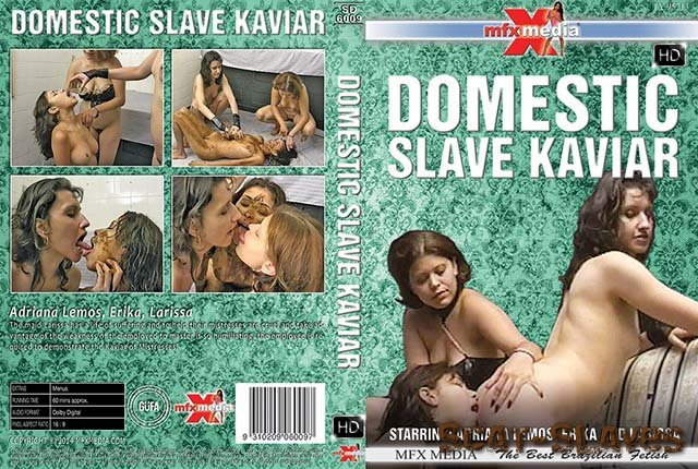 MFX Media: (Adriana Lemos, Erika, Larissa) - [SD-6009] Domestic Slave Kaviar [HDRip] (1.25 GB)