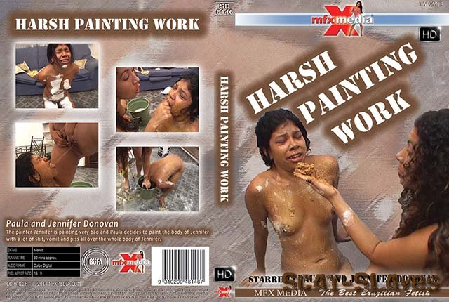 MFX Media: (Paula, Jennifer Donovan) - MFX-6146 Harsh Painting Work [HDRip] (1.37 GB)