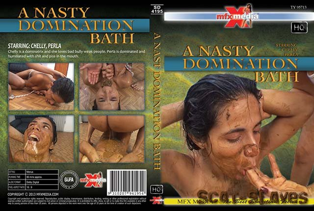 MFX Media: (Chelly, Perl) - [SD-4195] A Nasty Domination Bath [HDRip] (1.33 GB)