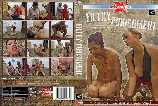 Brazil Scat: (Andressa, Tatthy) - [SD-6261] Filthy Punishment [HDRip] (1.32 GB)