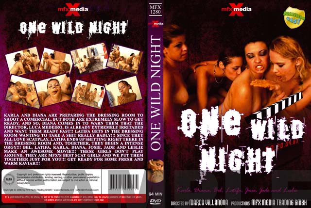 Mfx-media: (Latifa, Karla, Bel, Diana, Leslie, Josie, Jade) - MFX-1280 One Wild Night [DVDRip] (700 MB)