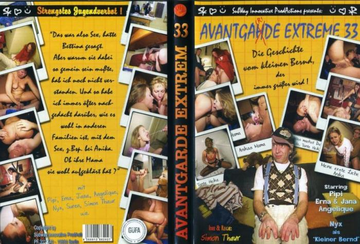 Subway Innovative Productions: (Pipi, Jana, Erna, Angelique) - Avantgarde Extreme 33 [DVDRip] (700 MB)