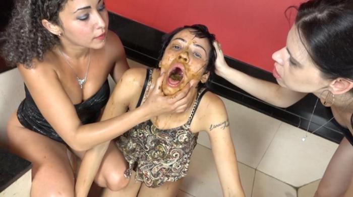 SG-Video: (The Scat Soup Real Swallow) - Extreme Double Scat Domination Dinner [FullHD 1080p] (2.10 GB)