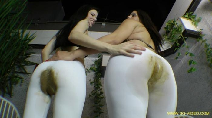 SG-Video: (2 Domina 1 Slave) - Scat Domination White Scat Pants [FullHD 1080p] (3.15 GB)