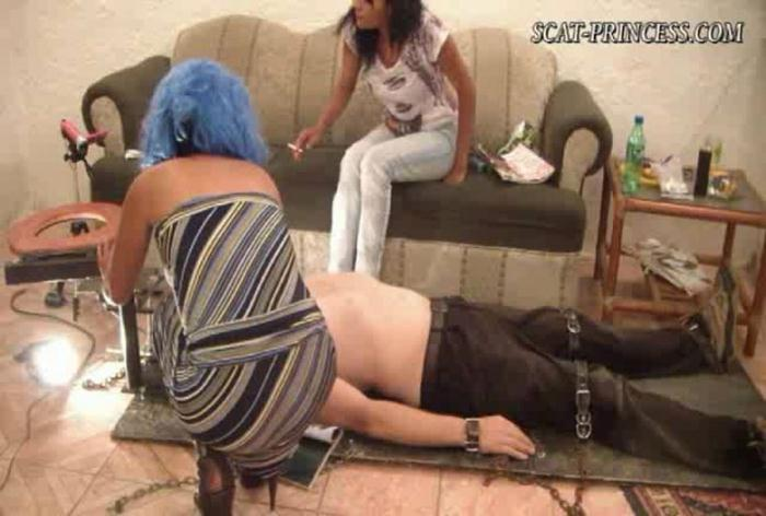 Scatprincess.de: (Girls) - Using Toiletslave Is Good, Forced Consumtion Is Better Resound [SD] (238 MB)