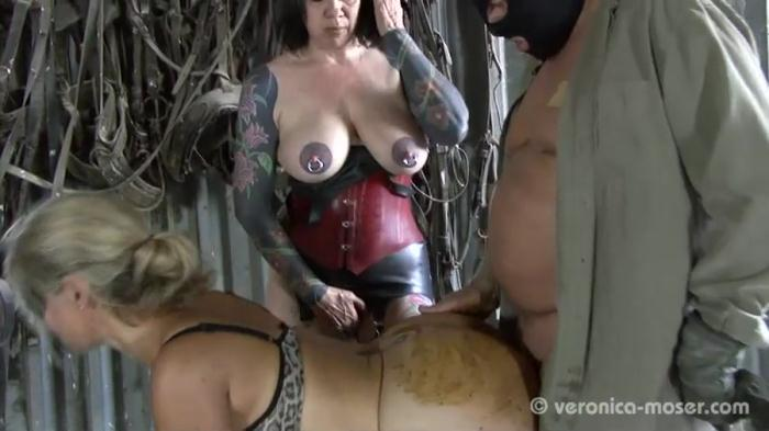 Domination Scat: (Veronika, Molly) - Slut Farm [SD] (345 MB)