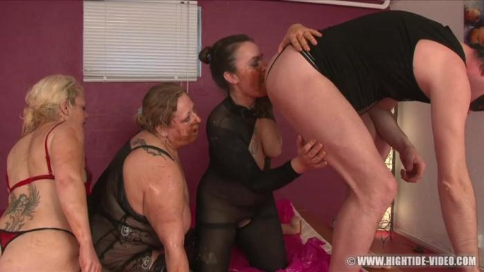 Hightide-Video: (Gina, Francesca, Nadia, 1 Male) - More Little Pigs [HD 720p] (1.20 GB)