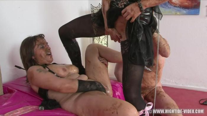 Hightide-Video: (Regina Bella, Gina, 1 Male) - SCAT SUBMISSION [HD 720p] (1.03 GB)