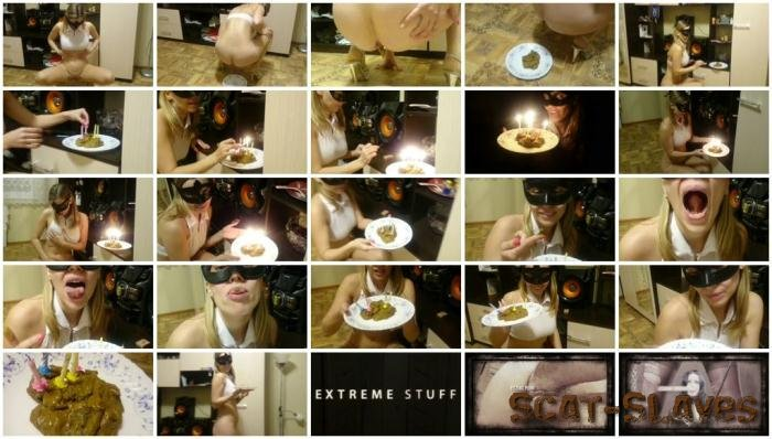 Extreme Scat: (Brown wife) - Cake of shit [FullHD 1080p] (1.06 GB)