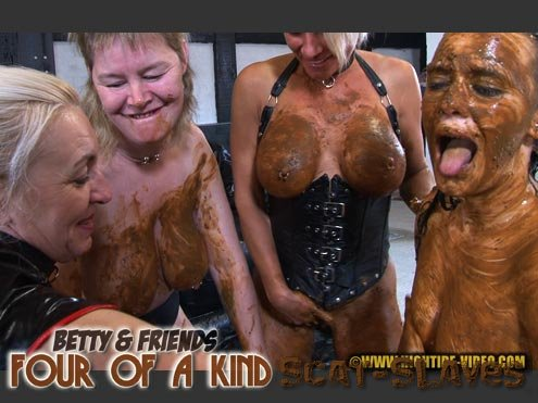 Hightide-Video.com: (Betty, Molly, Monalisa) - BETTY & FRIENDS - FOUR OF A KIND [HDRip] (964 MB)