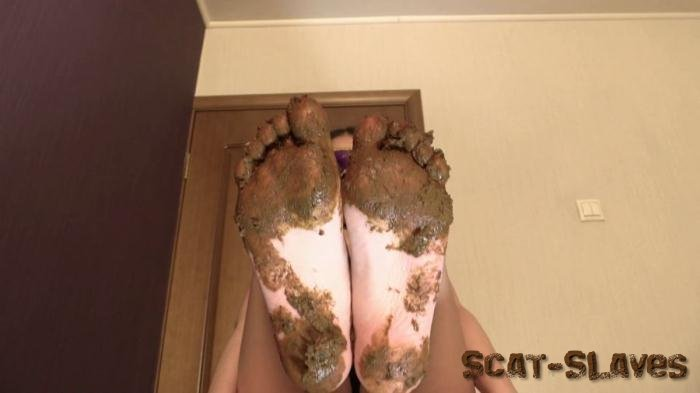 Foot Scat: (Princess Mia) - Mia Pov Foot smearing Scat with Princess Mia and toilet slave [FullHD 1080p] (894 MB)