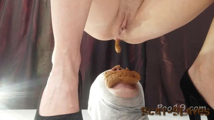Femdom Scat: (Smelly Milana) - Banquet for a 3-course toilet slave will fucked [FullHD 1080p] (2.82 GB)