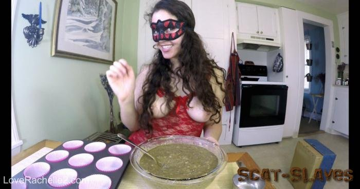 Defecation: (LoveRachelle2) - Baking Poop Muffins… Eat Them All, Slave [4K UltraHD] (1.76 GB)