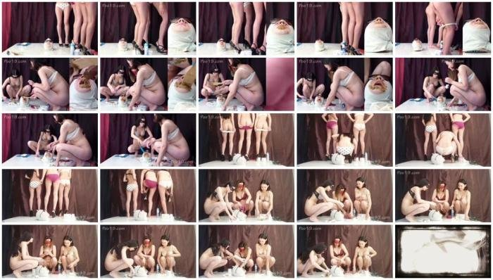 Humiliation Scat: (Smelly Milana) - 3 sweet diarrhea in panties [FullHD 1080p] (1.17 GB)