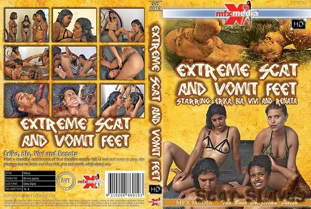 MFX Media: (Erika, Bia, Vivi, Renata) - [SD-6019] Extreme Shit and Vomit Foot [HDRip] (1.29 GB)