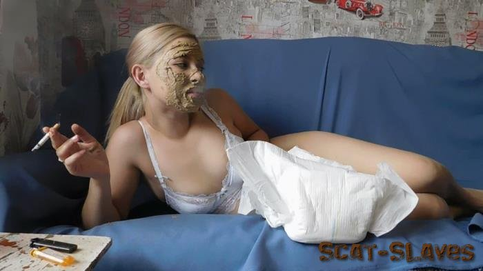 Solo Scat: (KatyaKASS) - Relax with the shit and a cigarette [FullHD 1080p] (1.52 GB)
