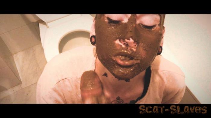 Blowjob Scat: (DirtyBetty) - ULTRA Amateur Homemade SCAT blowjob [FullHD 1080p] (314 MB)