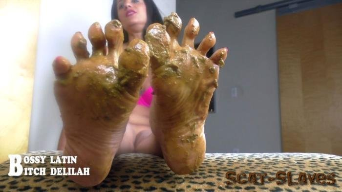 """clips4sale.com: (Bossy Latin, Bitch Delilah) - Scat Queen Delilah – Pretty """"SHITTY"""" thing [HD 720p] (433 MB)"""