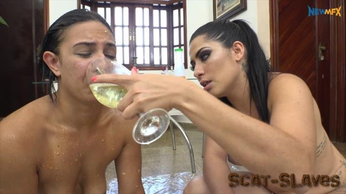 New Scat In Brazil: (Mary Luthay, Saori Kido) - Special Dinner with Vomit and Scat [FullHD 1080p] (3.82 GB)