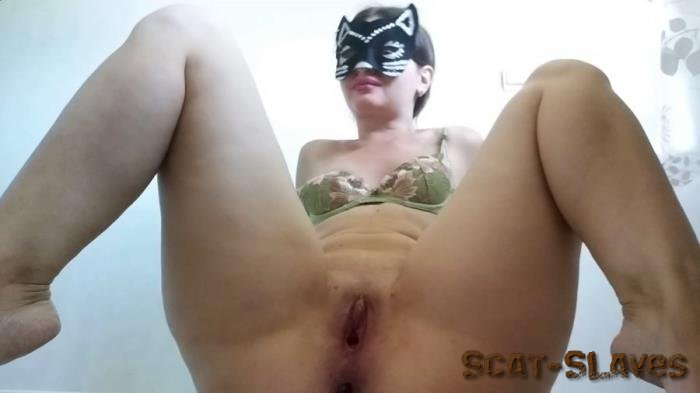 New scat: (NastyGirl) - Hot striptease and pooping [FullHD 1080p] (1.44 GB)