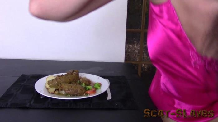 Solo Scat: (Evamarie88) - Roast Dinner With Giant Log [FullHD 1080p] (633 MB)