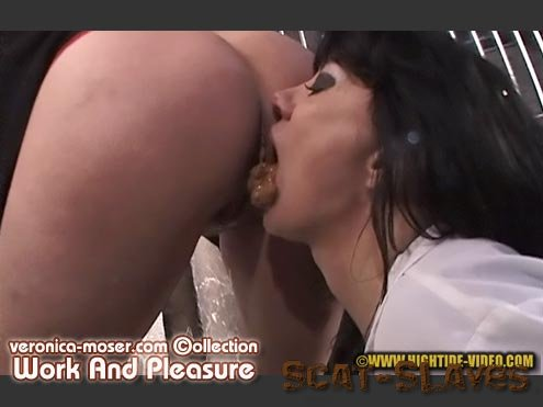 Hightide Scat: (Veronica Moser, Mistress Angie) - VM37 - WORK AND PLEASURE [SD] (1.31 GB)