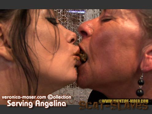 Hightide Scat: (Veronica Moser, Angelina) - VM44 - SERVING ANGELINA [HD 720p] (1.01 GB)