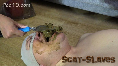 Domination Scat: (MilanaSmelly) - Today it was very difficult for him [HD 720p] (1.29 GB)