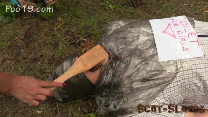Humiliation Scat: (MilanaSmelly) - Free toilet for girls in the forest [HD 720p] (929 MB)