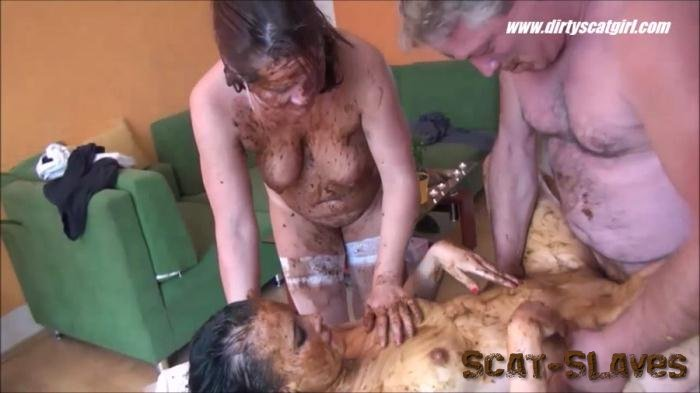 DirtyScat: (Betty, Victoria) - Massage Scat Parlour 2 [HD 720p] (683 MB)