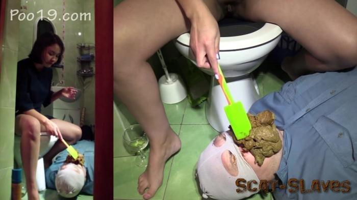 Femdom Scat: (ShitGirl) - Toilet Slavery [FullHD 1080p] (1.48 GB)