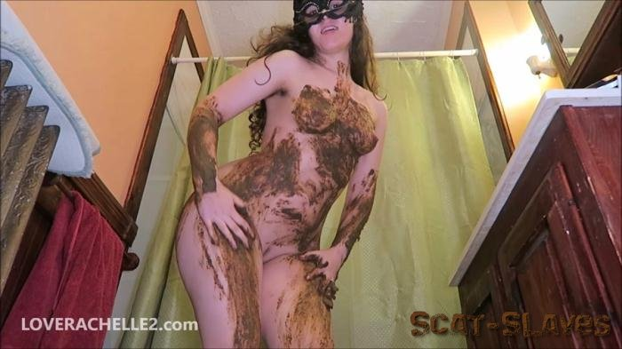 Defecation: (LoveRachelle2) - Hot, Literally STEAMY Shit Smear [FullHD 1080p] (1.00 GB)