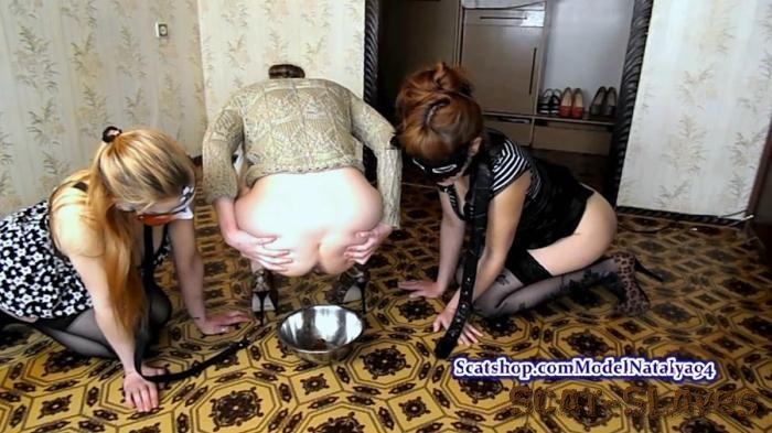 Scatting Girl: (ModelNatalya94) - Carolina has two slaves on a leash [FullHD 1080p] (1.23 GB)
