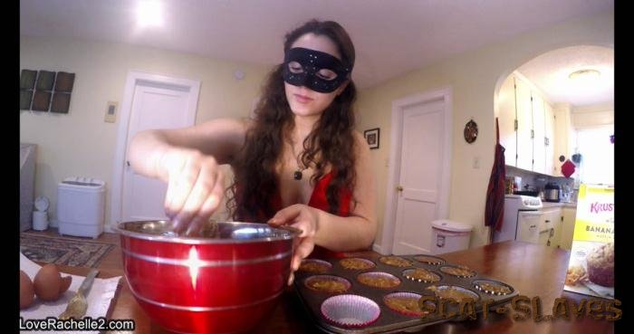 Defecation: (LoveRachelle2) - Slave Deserves A Treat! Baking Poop Muffins [UltraHD 4K] (1.37 GB)