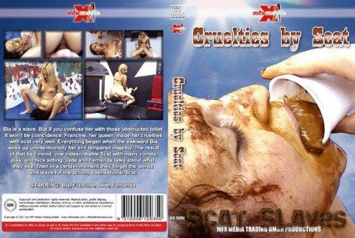 MFX-Media: (Bia, Francine, Jade, Fernanda) - 2035 Cruelties By Scat [SD] (425 MB)