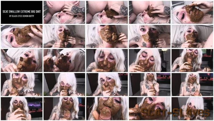 Defecation: (Demon Betty) - Scat Swallow Extreme Big Shit By Black Eyes [FullHD 1080p] (613 MB)