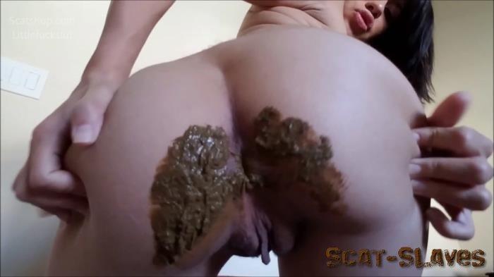 Panty Scat: (littlefuckslut) - Panty Poop & Ass Smear Meal [FullHD 1080p] (693 MB)