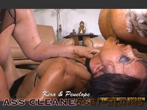 Hightide-Video.com: (Kira, Penelope, 2 males) - ASS CLEANERS [HD 720p] (1.10 GB)
