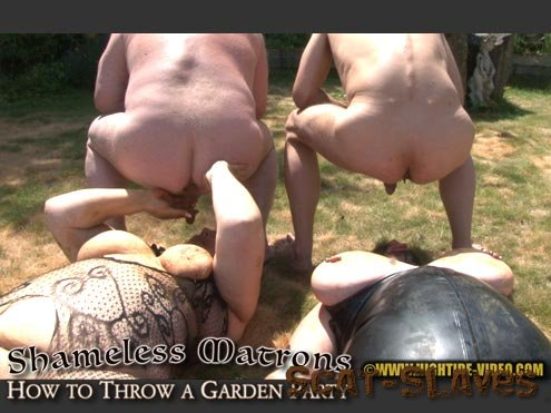 Hightide-Video.com: (Marilou, Linda, 2 males) - SHAMELESS MATRONS - HOW TO THROW A GARDEN PARTY [HD 720p] (1.32 GB)