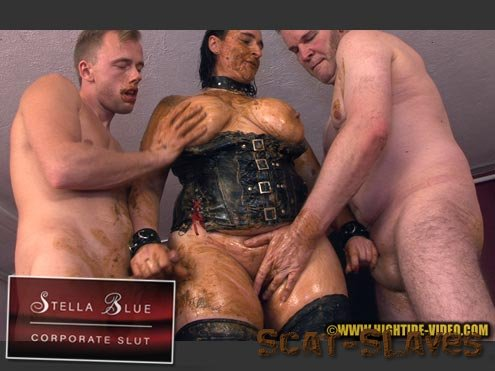 Hightide-Video.com: (Stella, 3 males) - STELLA BLUE, CORPORATE SLUT [HD 720p] (594 MB)