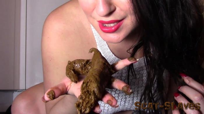 Defecation: (evamarie88) - Licking My Giant Log [FullHD 1080p] (596 MB)