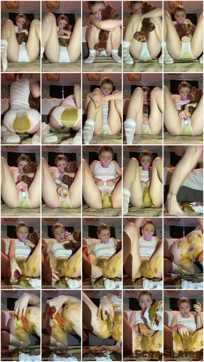 Panty Scat: (Sexandcandy18) - Daddy's girl messy fun [UltraHD 2K] (1.94 GB)