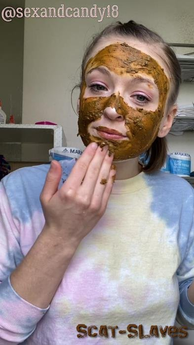 Scatting: (sexandcandy18) - Teen's first diaper fill + face mask! [UltraHD 2K] (1.06 GB)
