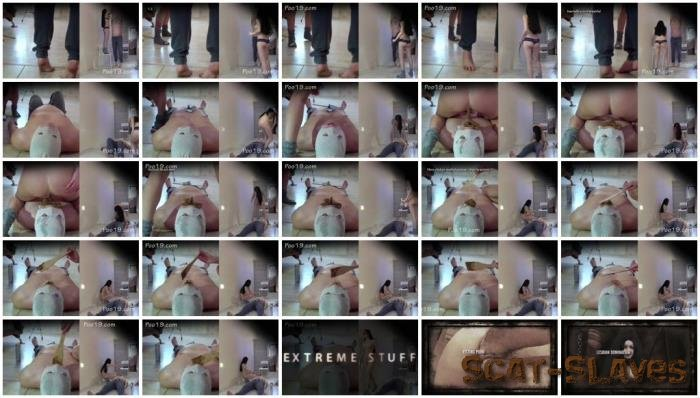 Femdom: (MilanaSmelly) - I cry with happiness to be Christina's toilet [FullHD 1080p] (597 MB)