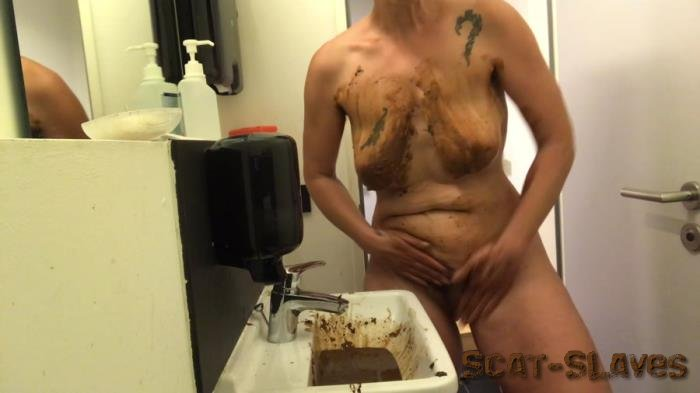 Stars Scat: (NoraNature) - Washing with shit [FullHD 1080p] (220 MB)
